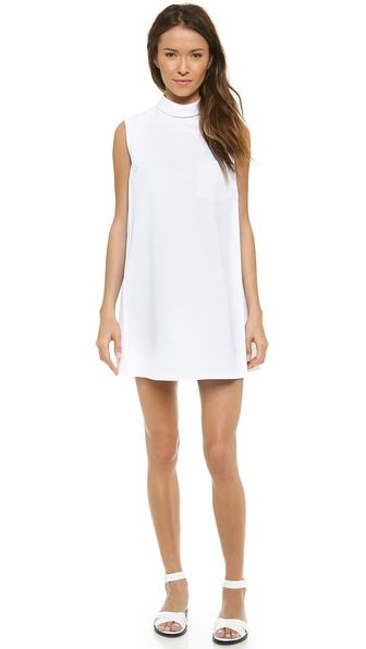 Alexander Wang Sleeveless Mens Dress Shirt with Skirt