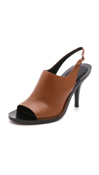 Alexander Wang Stella Slingback Mules - Beige at Shopbop / East Dane