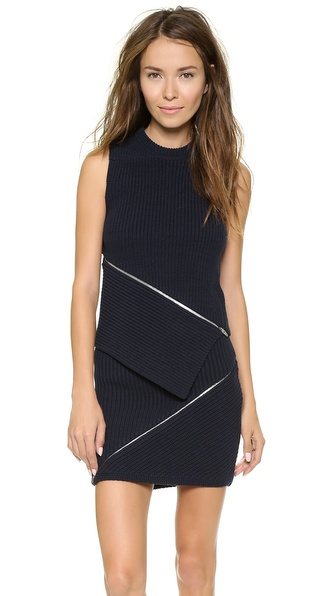 Alexander Wang Zip Peel Away Tank