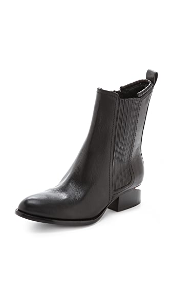 Alexander Wang Anouck Chelsea Boots with Rose Gold Hardware