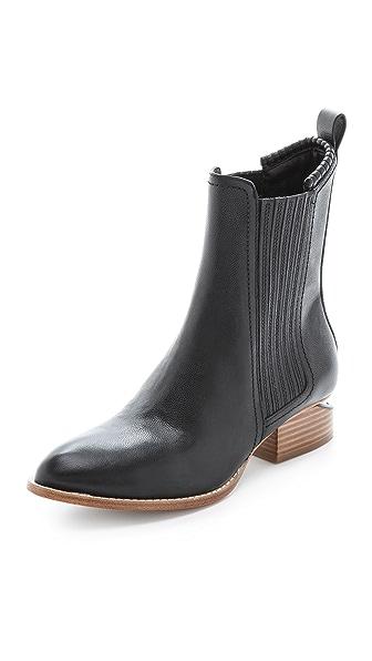 Alexander Wang Anouck Chelsea Boots with Natural Heel