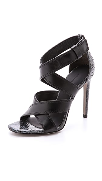 Alexander Wang Linda Cross Strap Sandals
