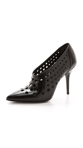 Alexander Wang Magdalena Cut Out Pumps