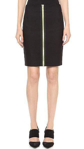 Alexander Wang Double Zip Pencil Skirt