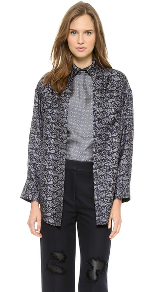 Alexander Wang Layered Oversize Shirt