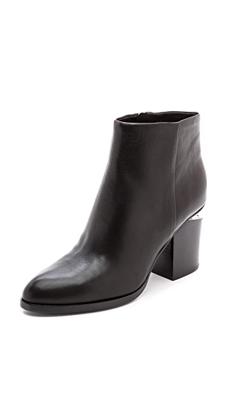 Alexander Wang Gabi Booties with Rhodium Hardware