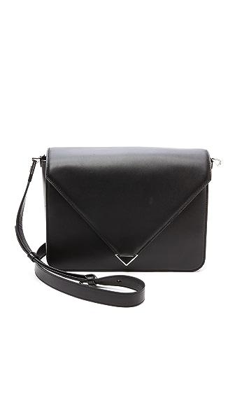 Alexander Wang Alexander Wang Prisma Envelope Large Sling Bag (Black)
