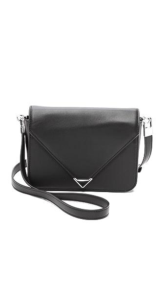 Alexander Wang Alexander Wang Prisma Envelope Small Sling Bag (Black)