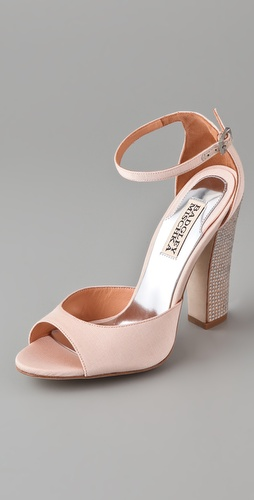 Badgley Mischka Wynter Open Toe High Heel Sandals