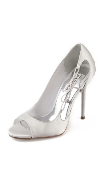Badgley Mischka Wanda Open Shank Pumps