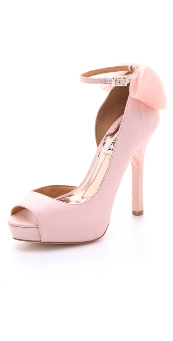 Badgley Mischka Zakia d'Orsay Pumps with Bow