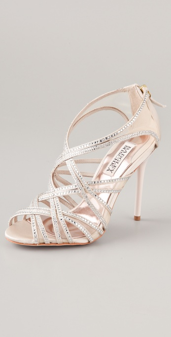 Badgley Mischka Gloria Crystal Sandals