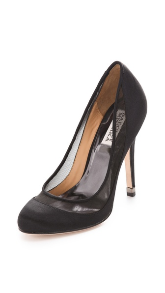 Badgley Mischka Myria Mesh Pumps
