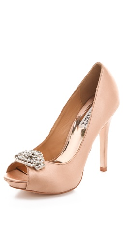 Badgley Mischka Goodie Ornament Pumps at Shopbop / East Dane