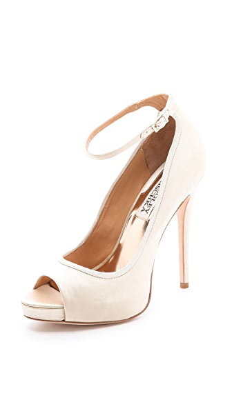 Badgley Mischka Aria Ankle Strap Pumps