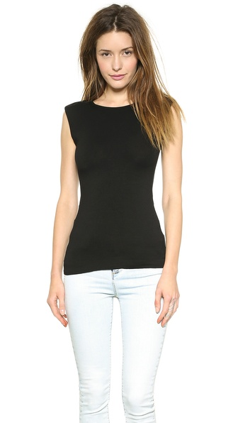 Bailey44 Solid Top with Shoulder Pads