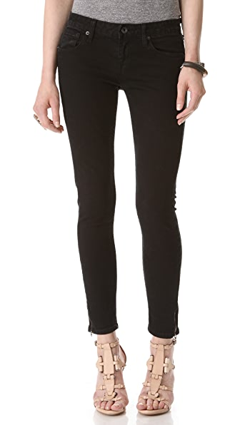 Baldwin Denim The Rivington Skinny Jeans with Zip