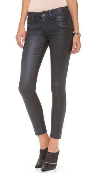 Baldwin Denim The Rivington Coated Skinny Jeans