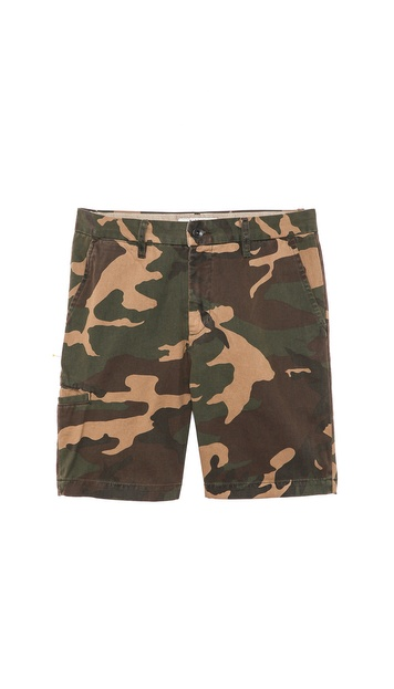 Baldwin Denim Camo Ryan Shorts