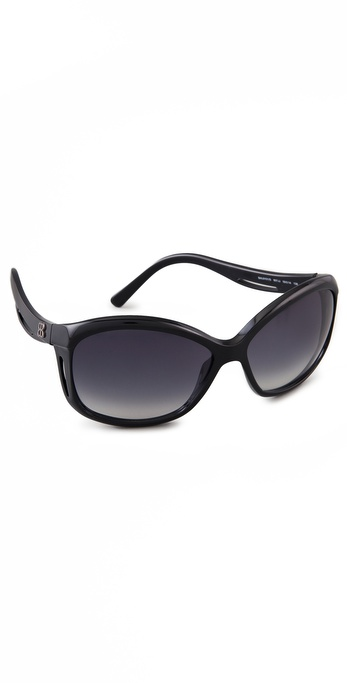 Balenciaga Plastic Cat Eye Sunglasses