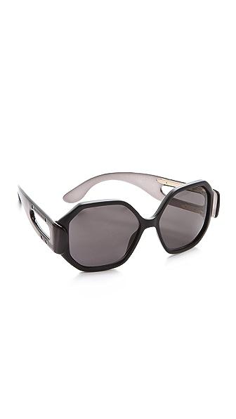 Balenciaga Oversized Geometric Sunglasses