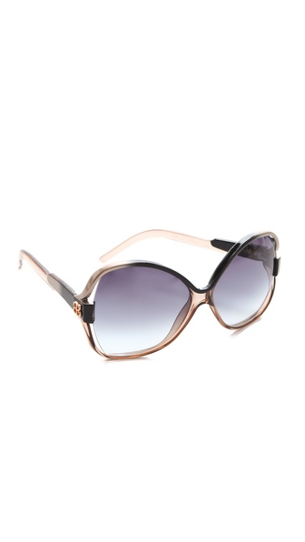 Balenciaga Oversized Glam Plastic Sunglasses