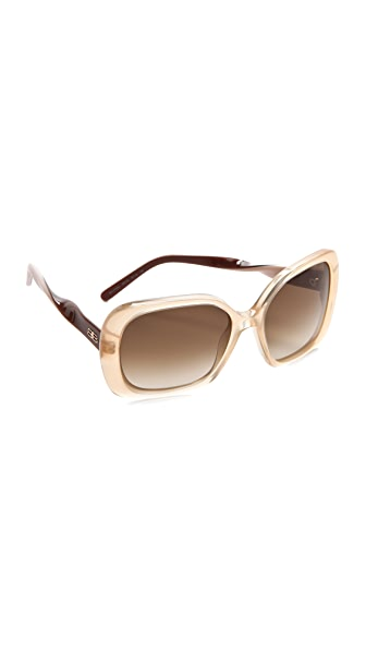 Balenciaga Twisted Temple Sunglasses