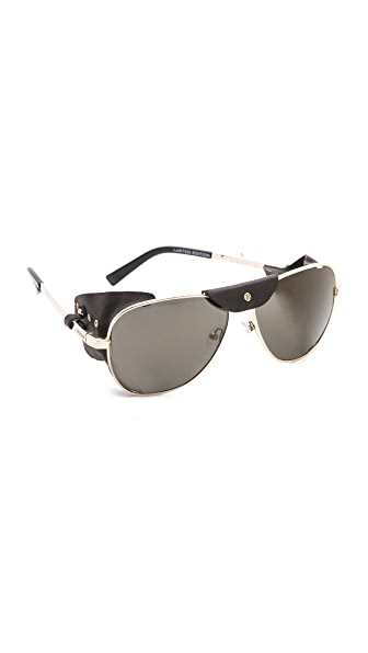 Balmain Studio Covered Side Sunglasses