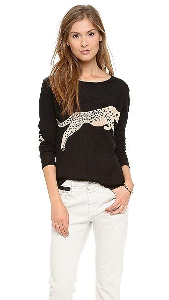 Banjo & Matilda Leopard Cashmere Sweater