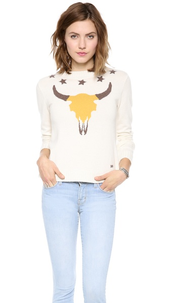 Banjo & Matilda Ranchero Crew Neck Sweater - Ivory at Shopbop / East Dane