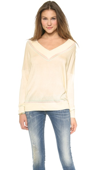 Banjo & Matilda Cricket Sweater - Ivory at Shopbop / East Dane