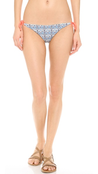 Basta Surf Raglan Reversible Bikini Bottoms - Grecian Flower/Versilia at Shopbop / East Dane