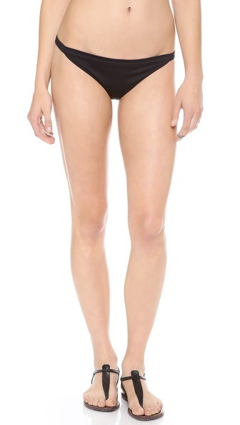 Basta Surf Spot X Reversible Bikini Bottoms - Noir/Aussie Coral at Shopbop / East Dane