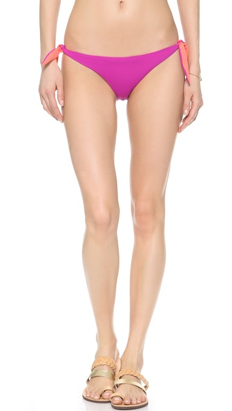 Basta Surf Pakala Reversible Bikini Bottoms - Peony at Shopbop / East Dane