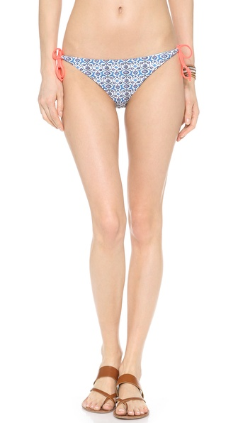 Basta Surf Raglan Reversible Bikini Bottoms - Grecian Flower at Shopbop / East Dane