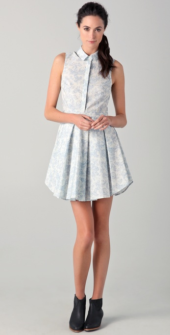 Band of Outsiders Exploding Dress