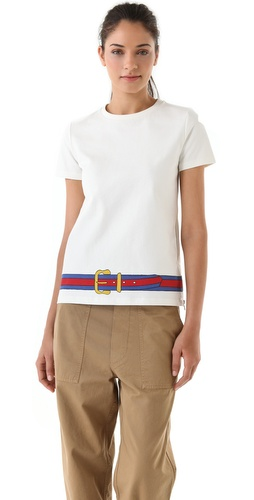 Boy. by Band of Outsiders T-Shirt with Belt Hem