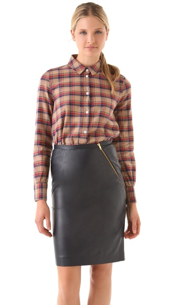 Boy. by Band of Outsiders Cropped Boxy Shirt