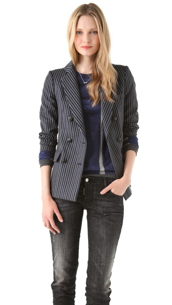 Band of Outsiders Double Breasted Jacket
