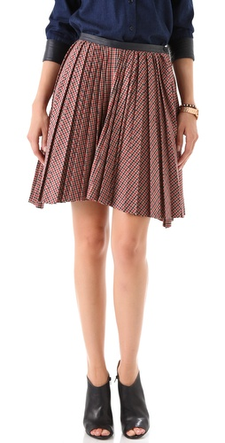 Boy. by Band of Outsiders Pleated Skirt