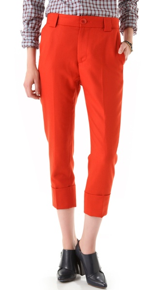 Boy. by Band of Outsiders Capri Cuffed Trousers