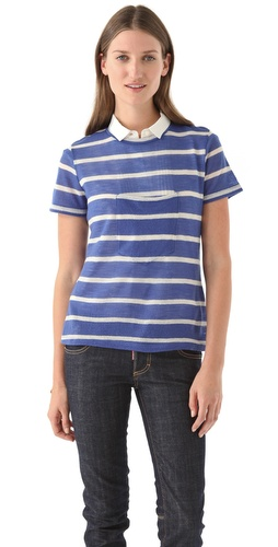 Boy. by Band of Outsiders Center Pocket Tee