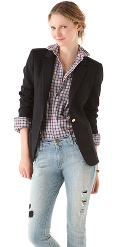 Boy. by Band of Outsiders Bucket Pocket Blazer