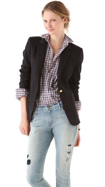 Band of Outsiders Bucket Pocket Blazer