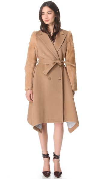 Boy. by Band of Outsiders Camelhair Trench Coat