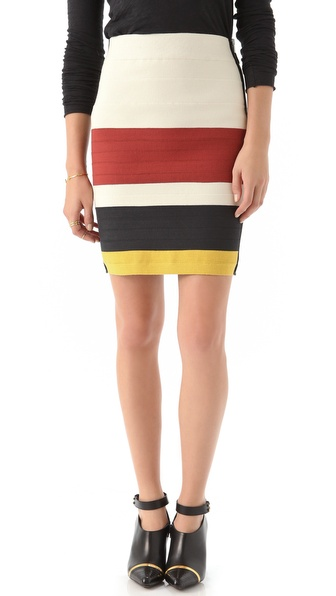 Boy. by Band of Outsiders Suspender Tape Skirt from shopbop.com