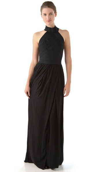 Boy. by Band of Outsiders Mock Neck Maxi Dress