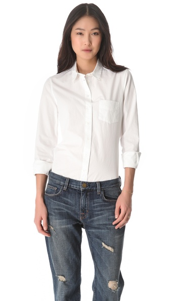 Boy. by Band of Outsiders Poplin Easy Shirt