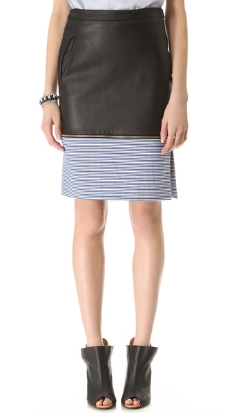 Boy. by Band of Outsiders Colorblock Pencil Skirt
