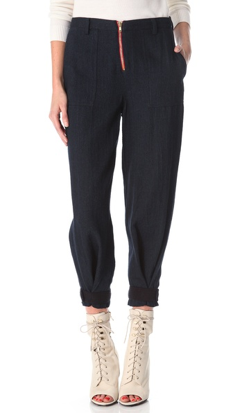 Band of Outsiders Zip Front Jeans